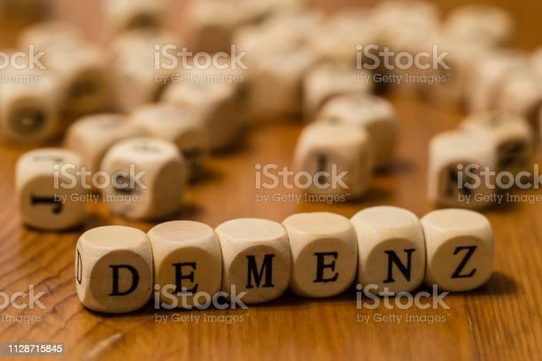 Demenz written in german with wooden cubes picture id1128715845?b=1&k=6&m=1128715845&s=612x612&h=zhco84krel4zlknmqneoghahyy39yq1cuh6sw4vnulk=