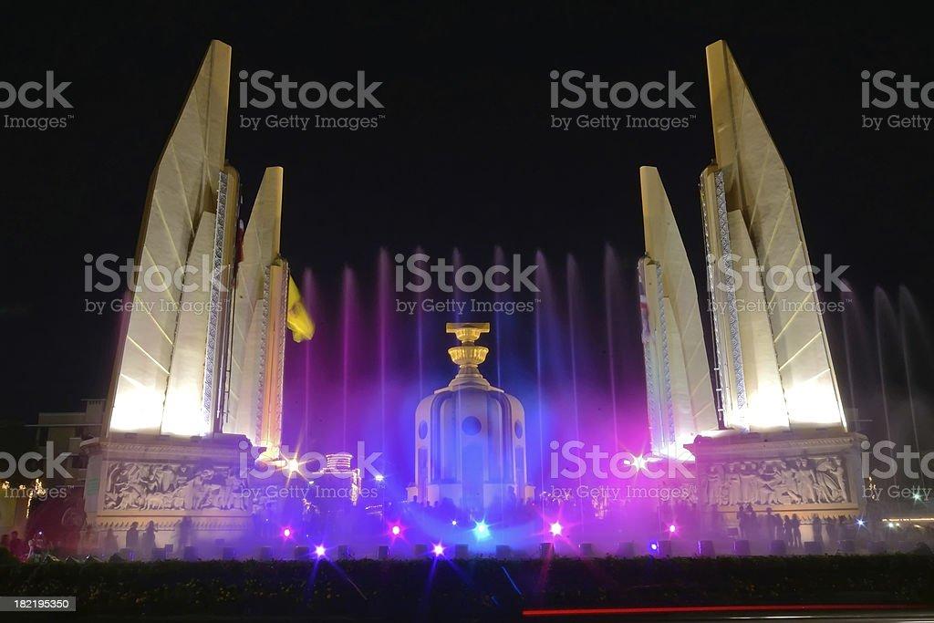 Democracy Monument royalty-free stock photo