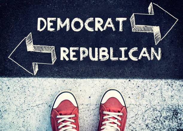 democrat и республиканская - республиканская партия сша стоковые фото и изображения
