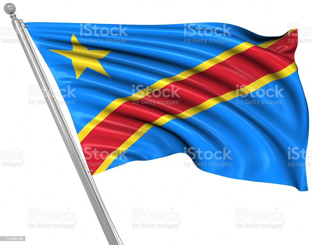 Democratic Republic of the Congo stock photo