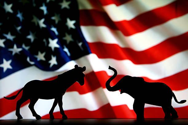democrats и republicans - республиканская партия сша стоковые фото и изображения