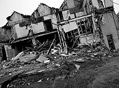 Demolition black and white