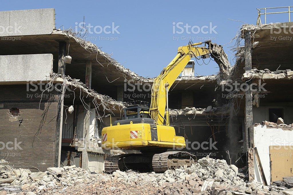Demolition. royalty-free stock photo