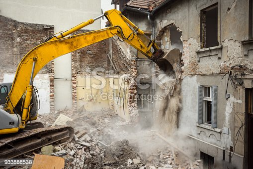 making place for new building