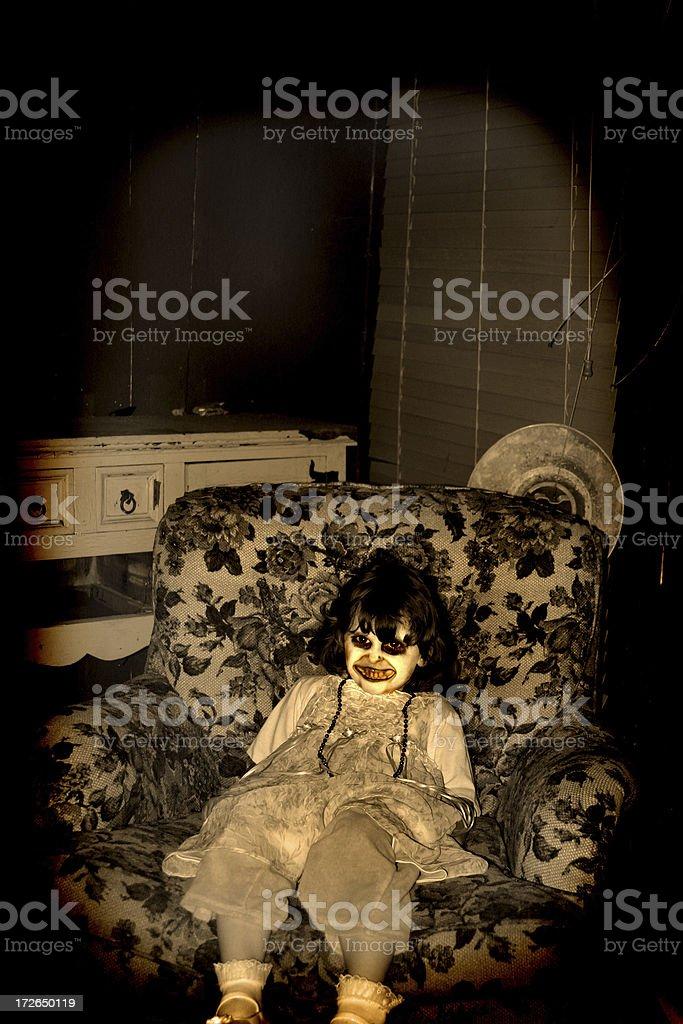 Demon Child 2 royalty-free stock photo