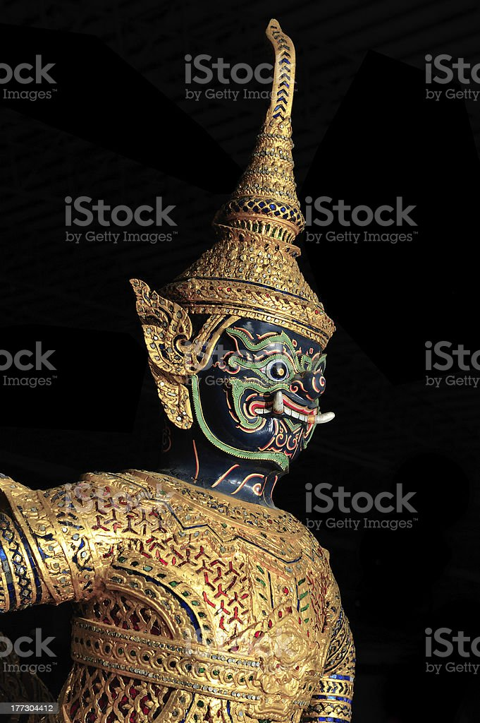 Demon Class Barge Asura Paksi royalty-free stock photo