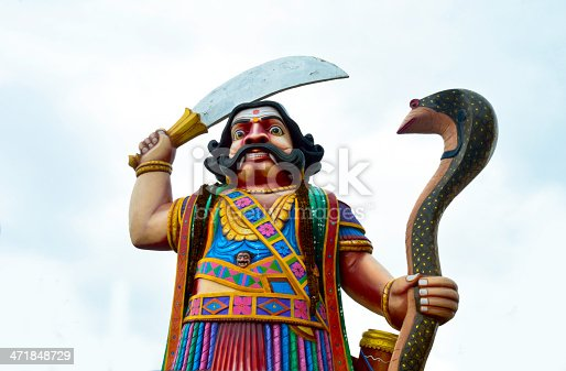 demon Mahishasura is an iconic image in Mysore, the very name Mysore is associated with Mahishasura.