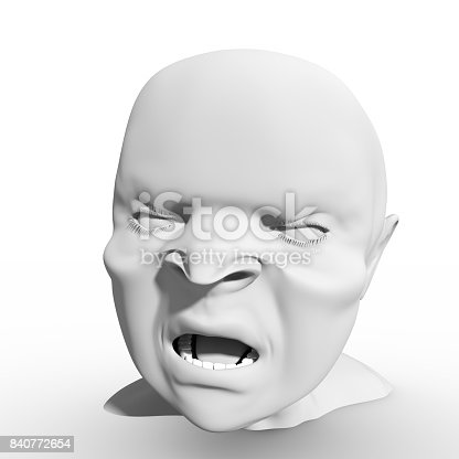 istock Demon or monster screaming 840772654