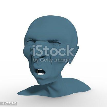 istock Demon or monster screaming 840772742