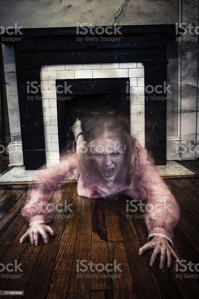 Demon stock photo