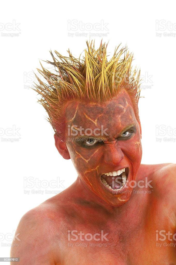 demon royalty-free stock photo