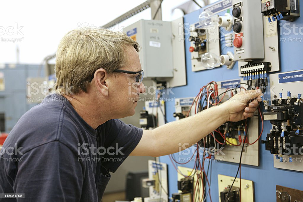 Demonstrating Motor Control stock photo