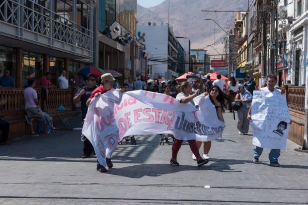 Demonstration in Iquique – Foto