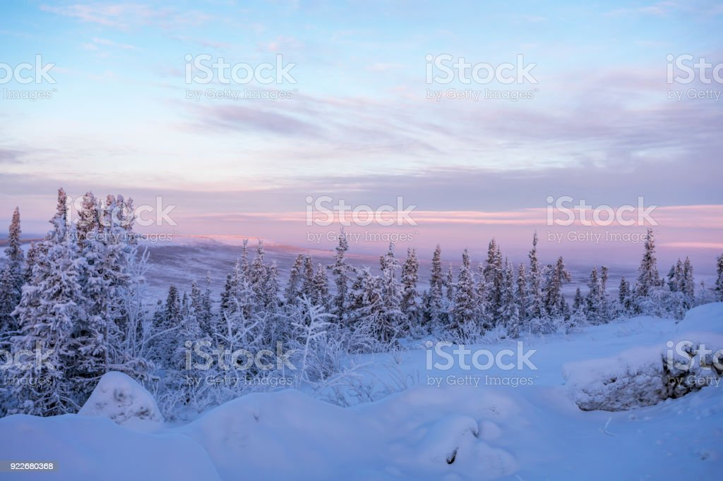Dempster Highway stock photo