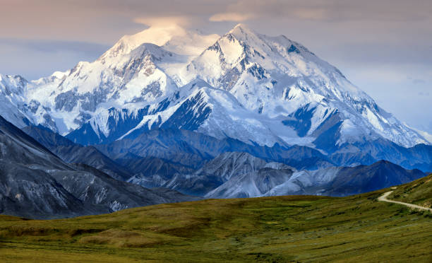 Denali (also known as Mount McKinley) - Alaska - USA stock photo
