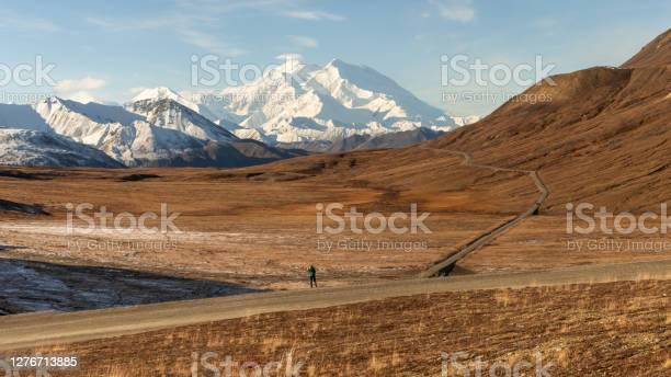 Photo of Denali Mountain Landscape in Autumn