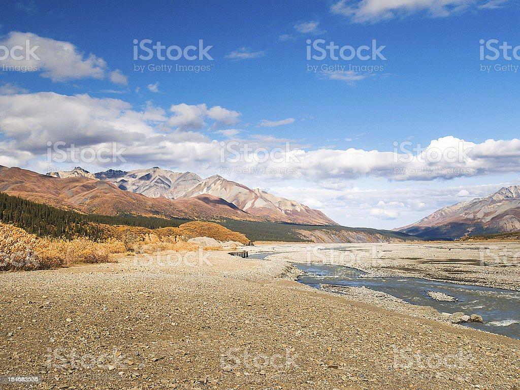 Denali national park royalty-free stock photo