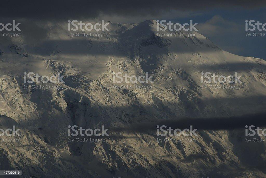 Denali north face royalty-free stock photo