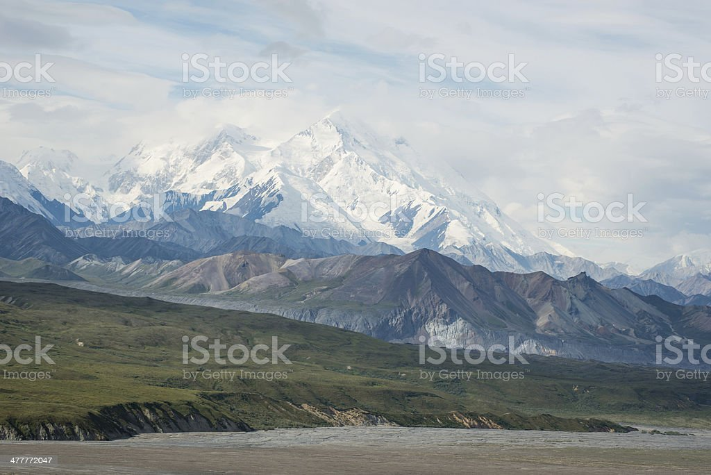 Denali (Mt. McKinley) royalty-free stock photo