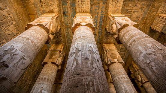 Dendera Temple In Egypt