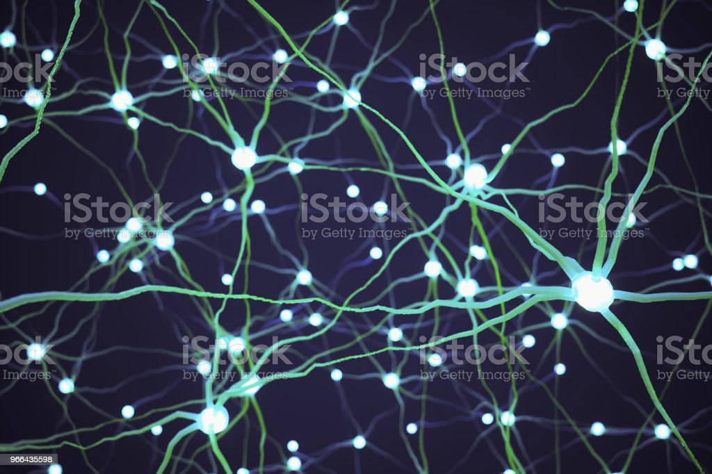 Dendrites Background stock photo