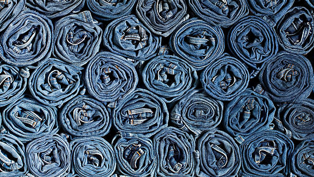 denim background - jeans stock photos and pictures