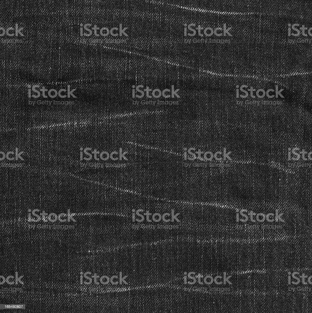 Denim Fabric Texture - Black XXXXL stock photo