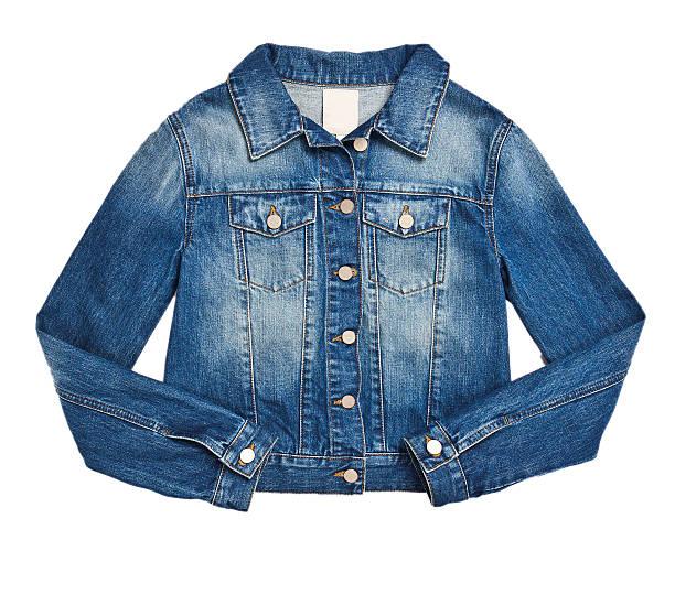 giacca in denim - giacca foto e immagini stock