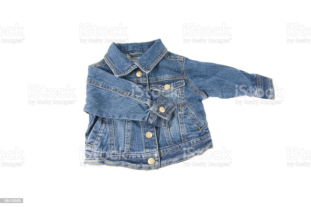 Giacca in Denim foto stock royalty-free