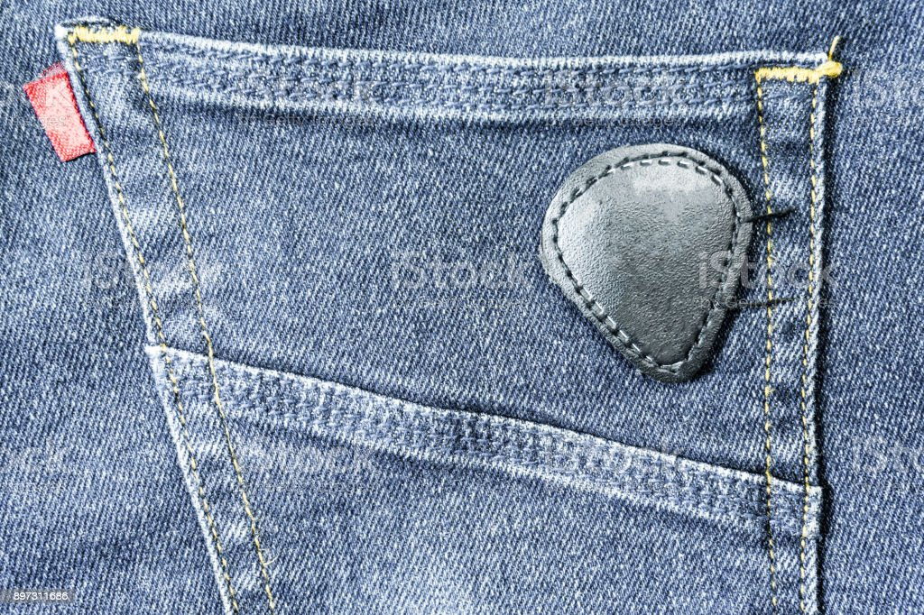denim jeans background with seam of jeans fashion design stitched