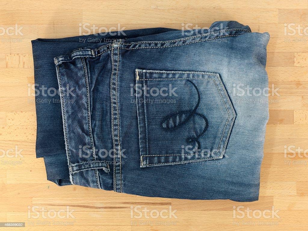 Denim Jeans royalty-free stock photo
