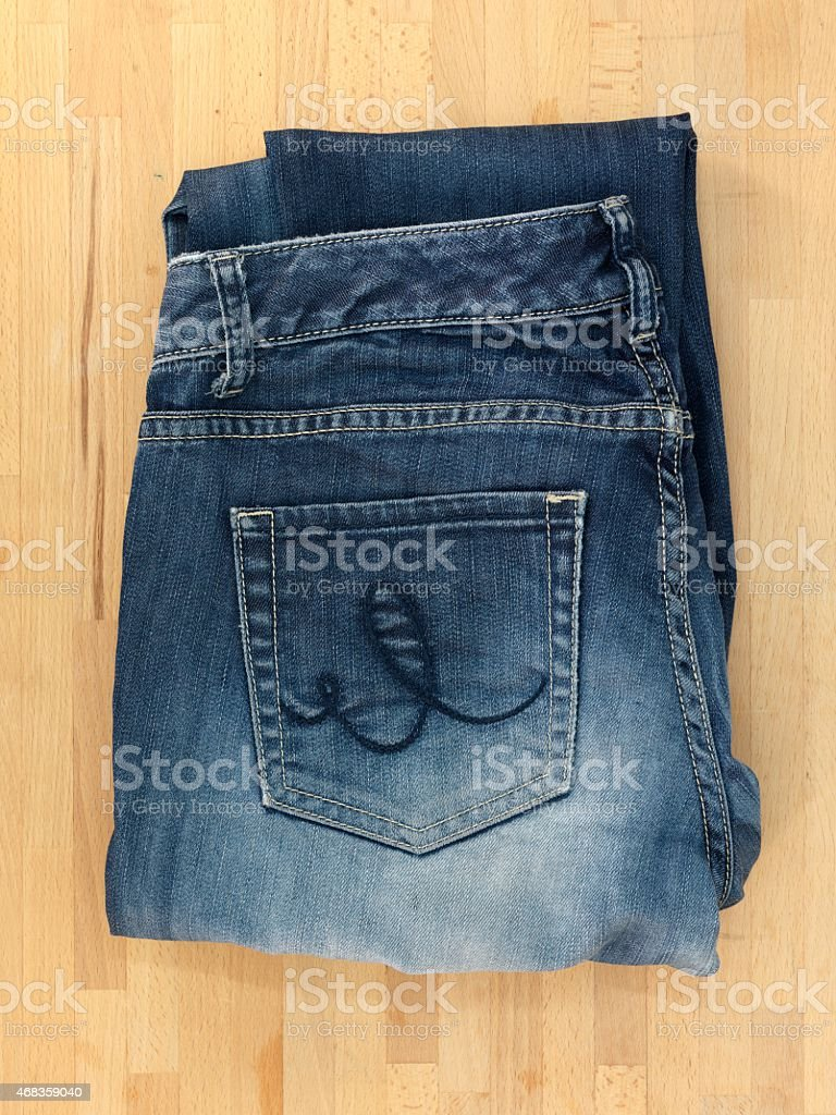 Denim Jeans royalty-free stock photo