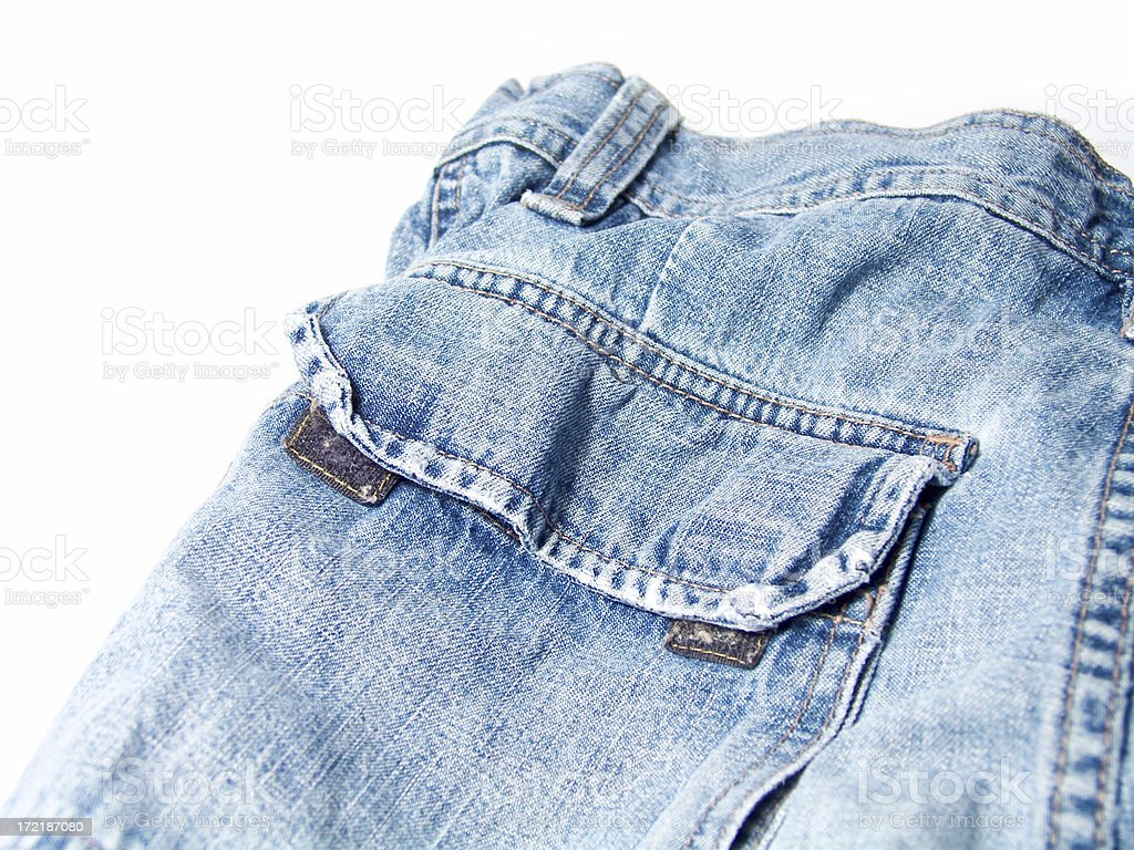 Denim royalty-free stock photo