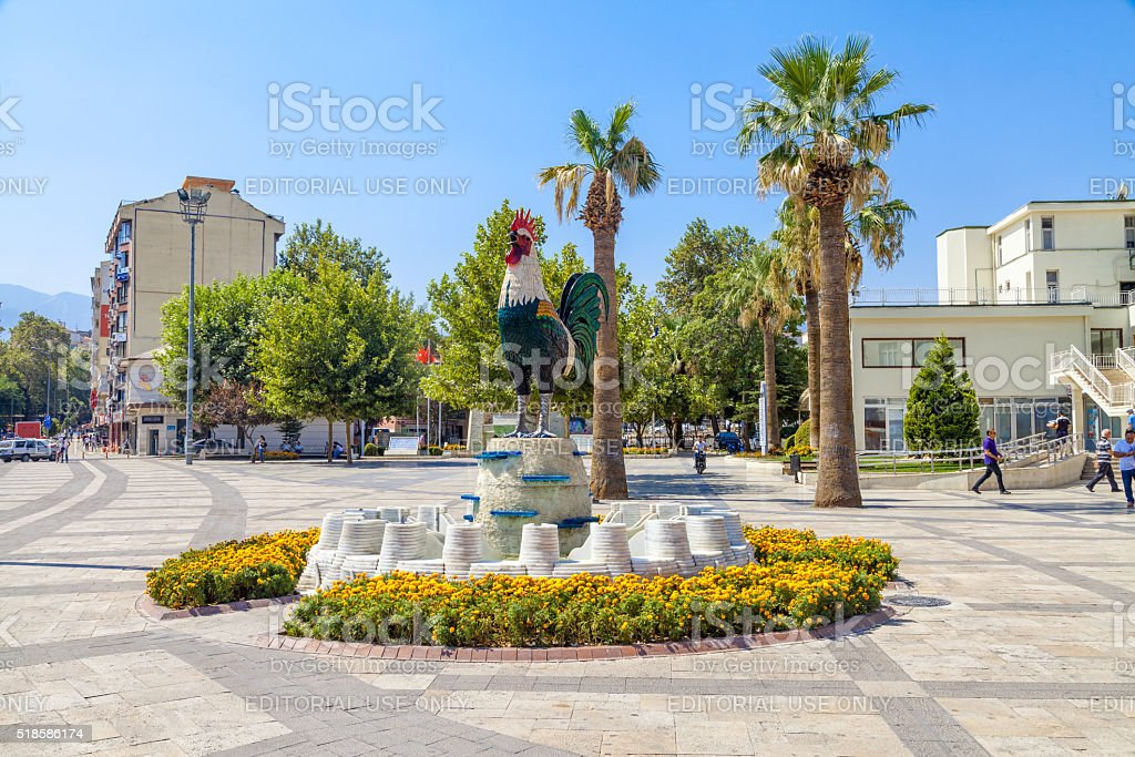 Denizli City stock photo