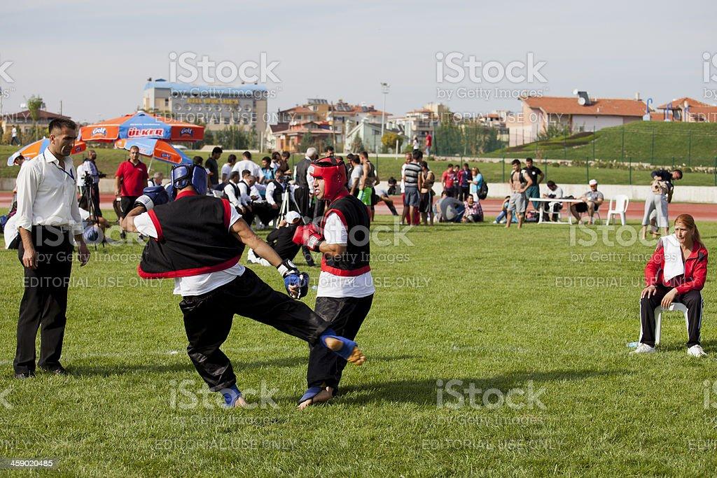Athletes from different countries meet in Denizli. Cirit Turkey...