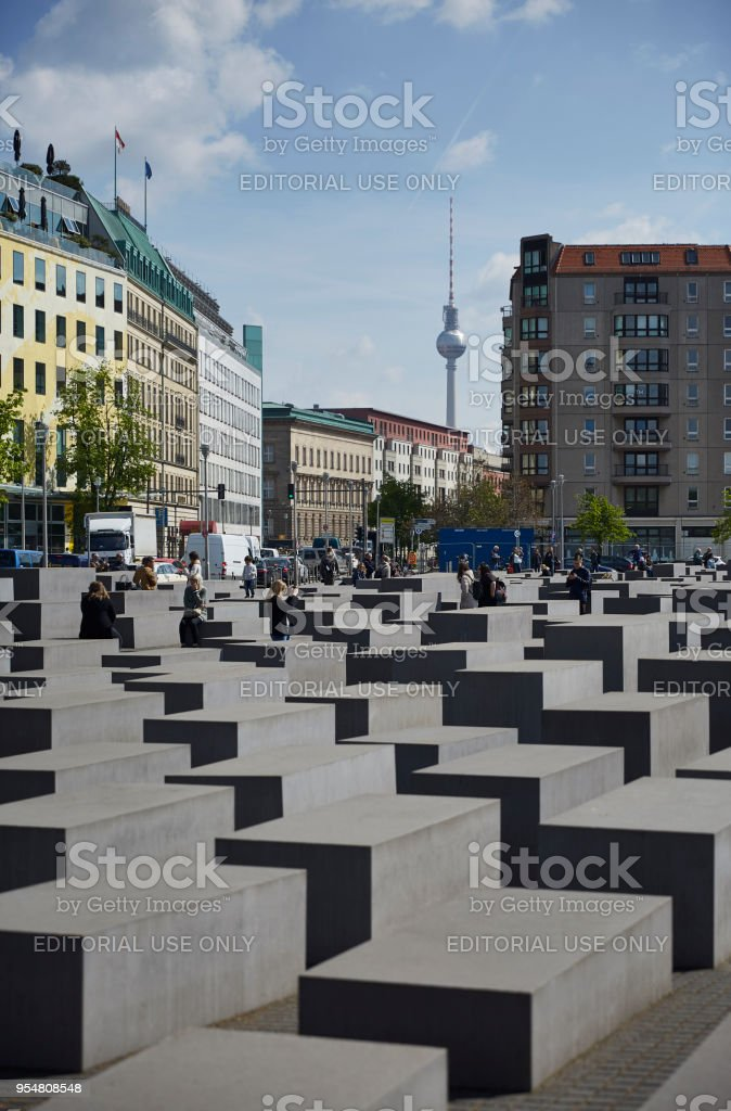 Denkmal Fur Die Ermordeten Juden Europas Holocaustmahnmal In Berlin Stockfoto Und Mehr Bilder Von Architektur Istock