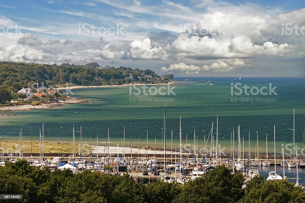 Danimarca beach foto stock royalty-free