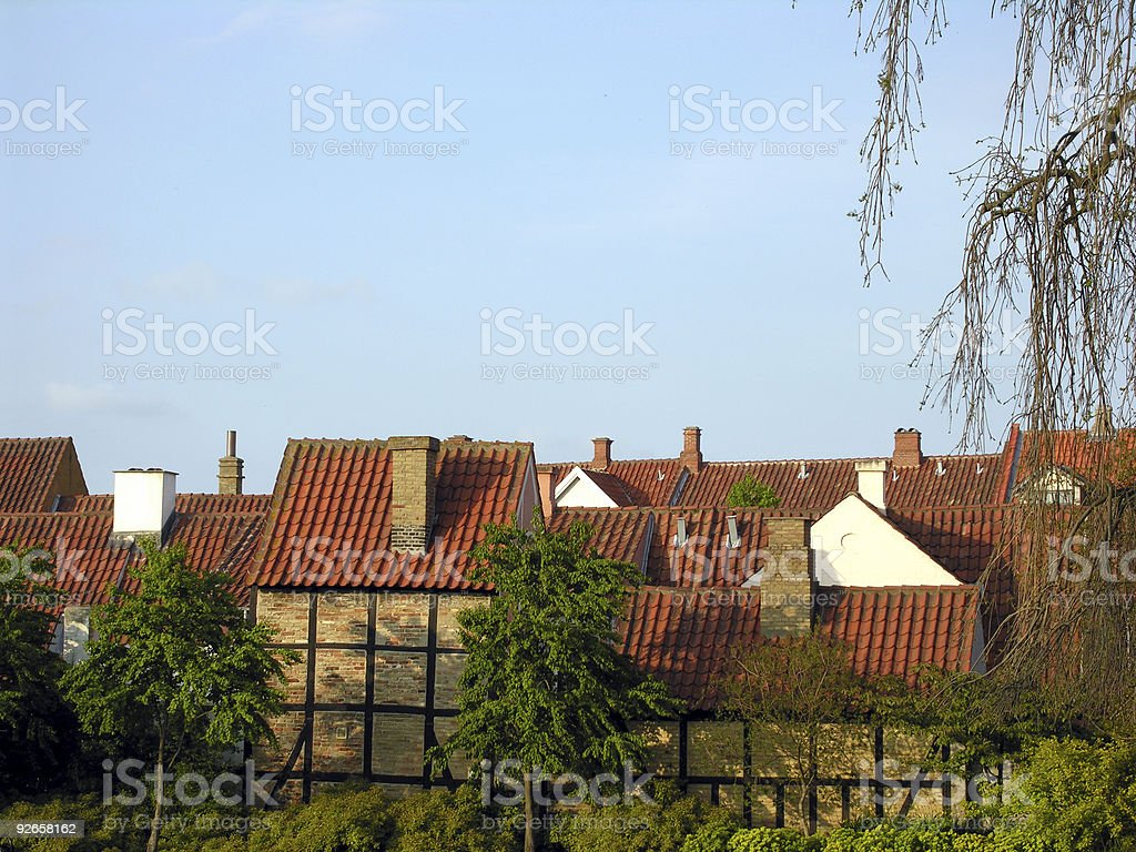 Denmark - Odense stock photo