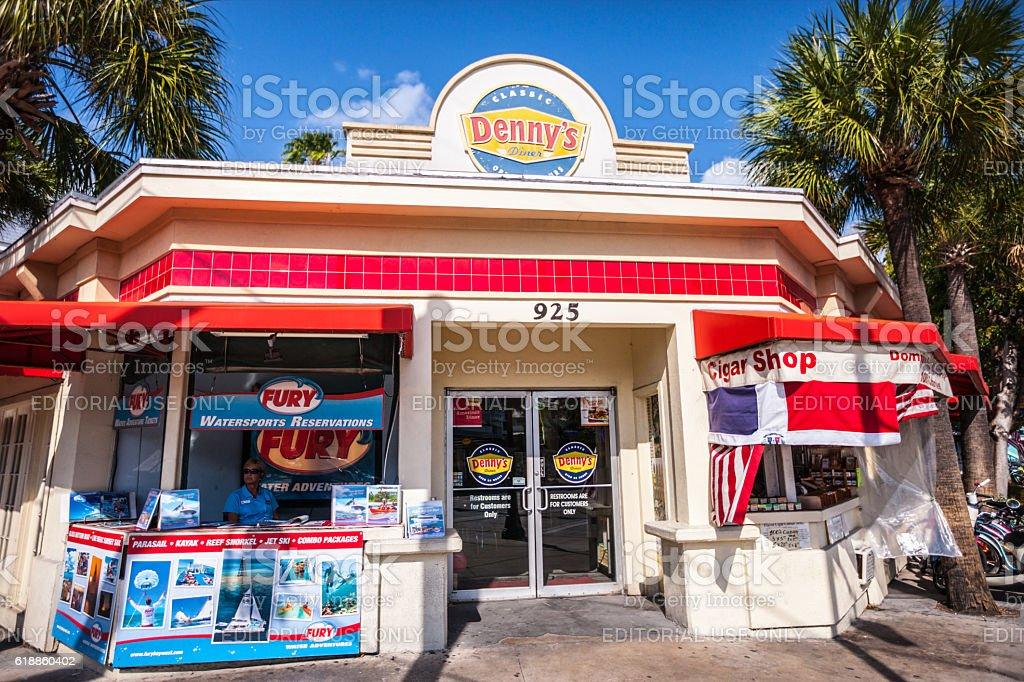 Dennys Diner On Key West Florida Usa Stockfoto Und Mehr Bilder Von