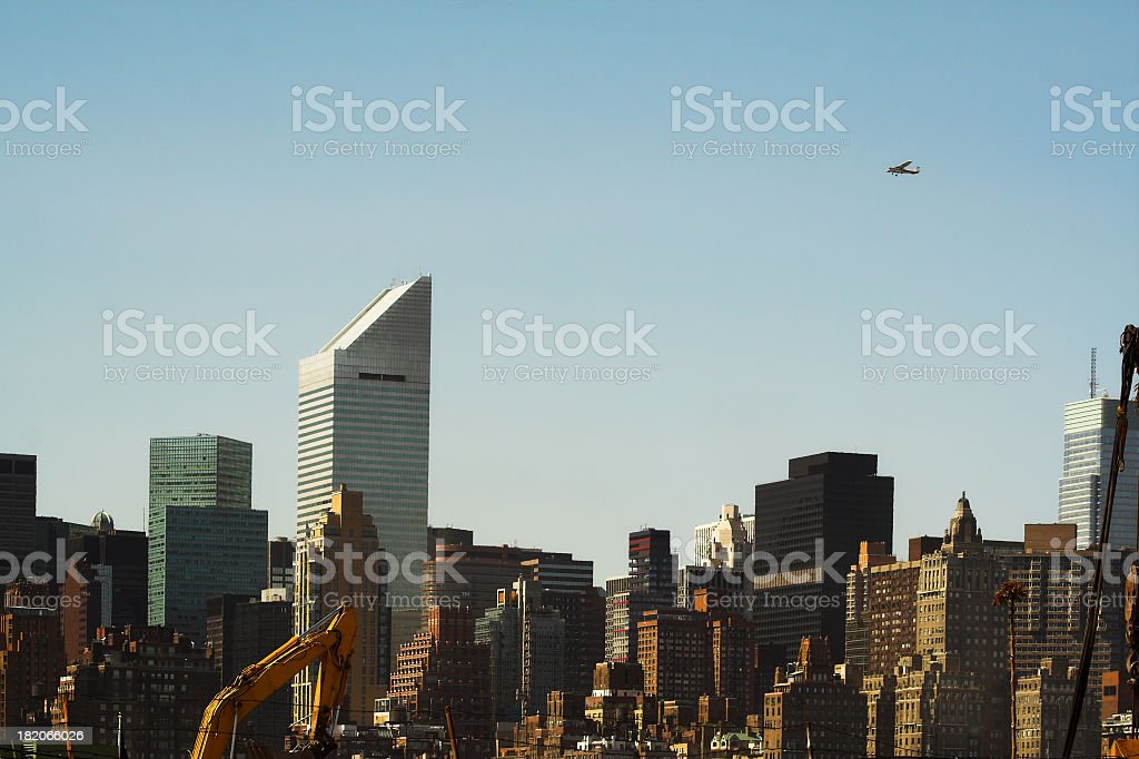 Dense City Skyline royalty-free stock photo