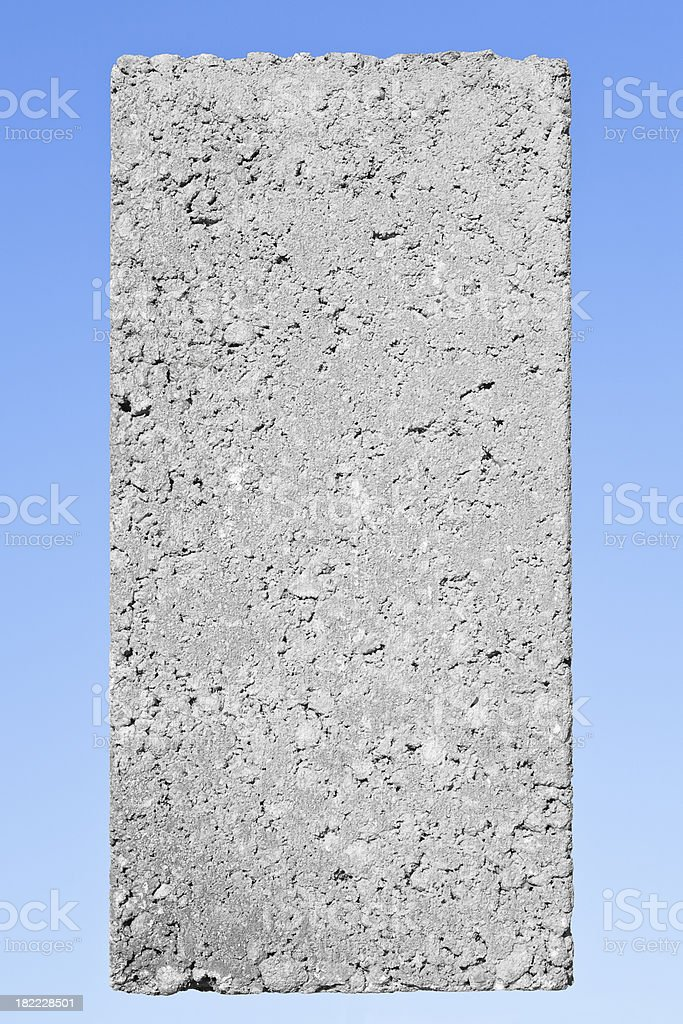 Dense concrete block stock photo