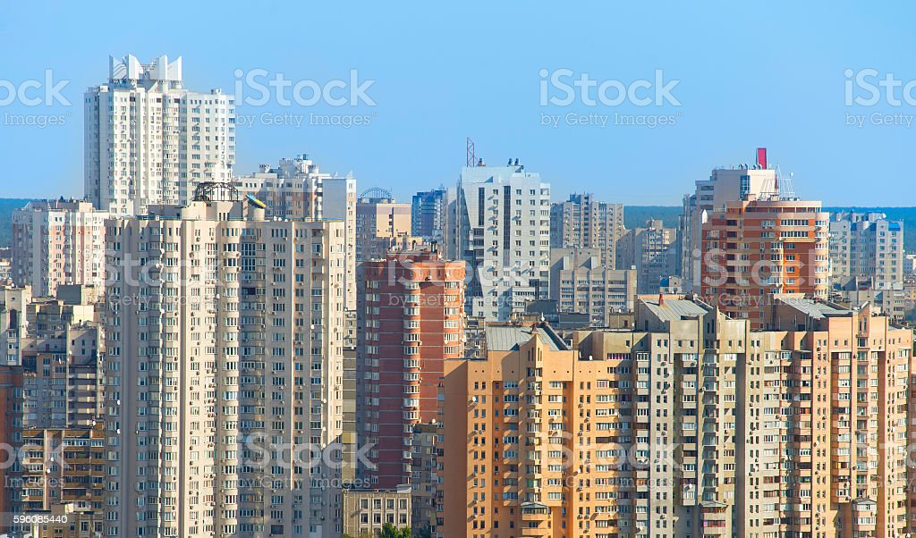 Density living condition royalty-free stock photo