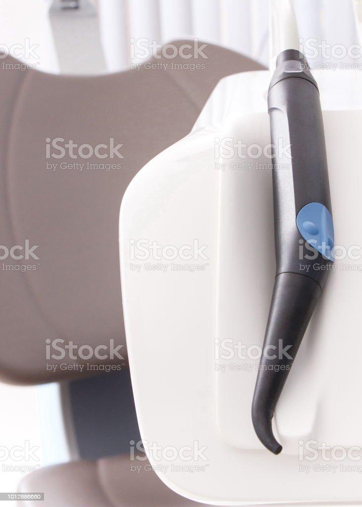Accesorios Dentales Y Silla Usada Por Los Dentistas En ...