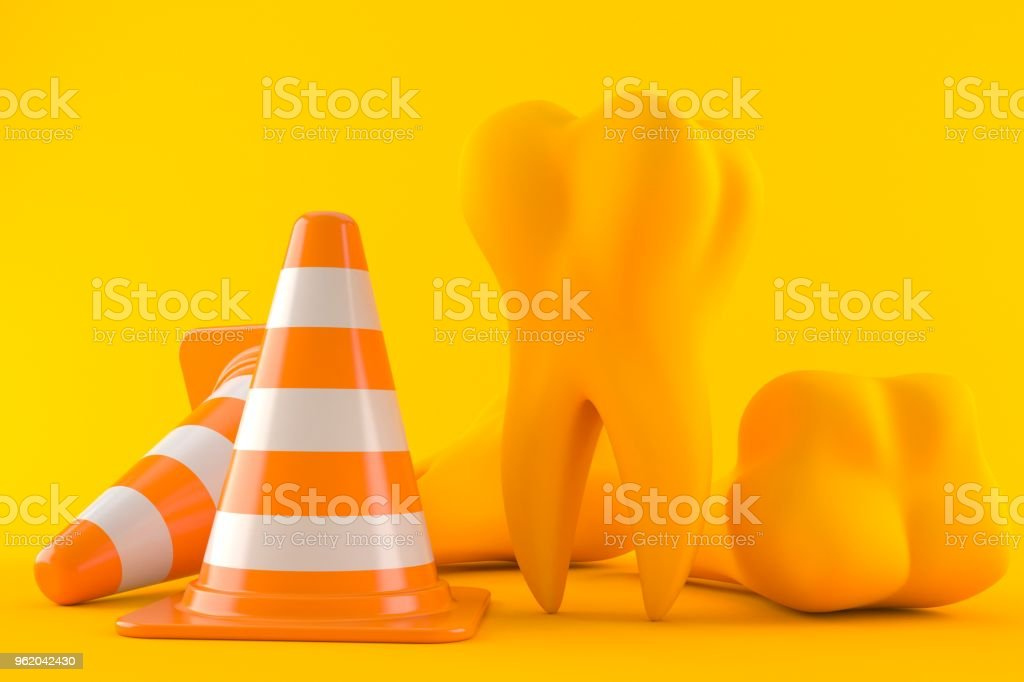 dental-background-with-traffic-cone-pict