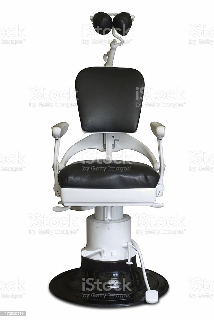 dental chair front view royalty-free stock photo