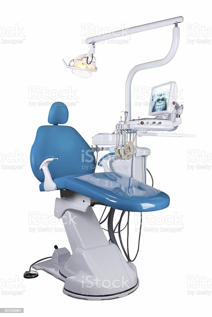 Dental chair stock photo