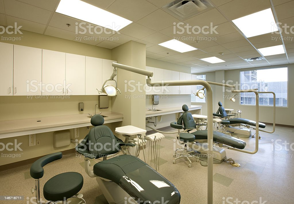 Dental Chairs royalty-free stock photo