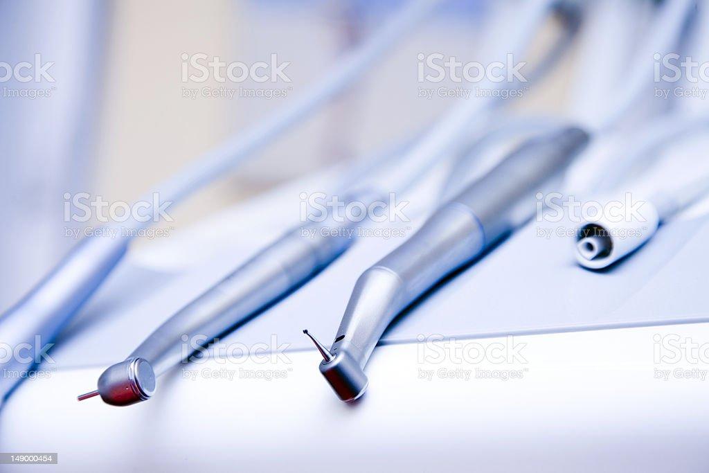 Dental drill stock photo