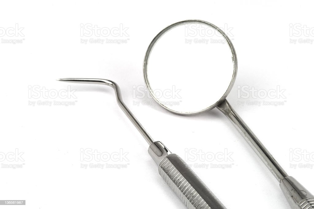 Dental equipments stock photo