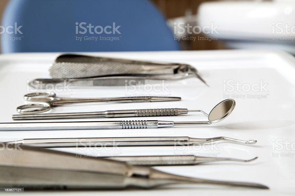 Dental Equipments royalty-free stock photo